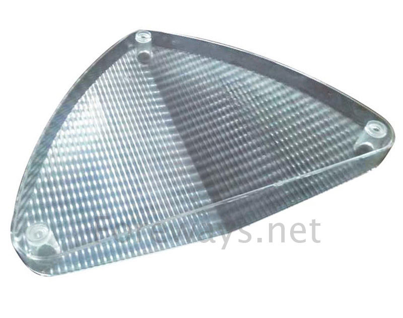 customized automotive Reflector cover plastic injection molding