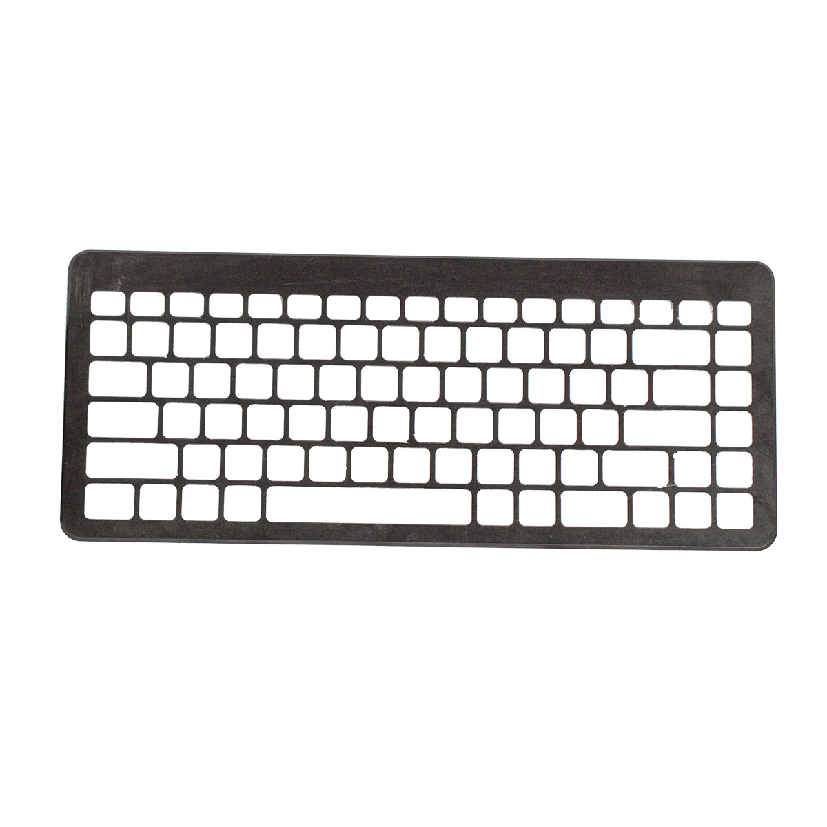 customized computer keypad board cover plastic injection molding